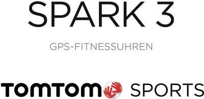 GPS-Pulsuhr mit integriertem Sensor TomTom Sports Spark 3