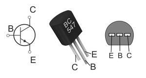 Transistor-Anschlussbelegung