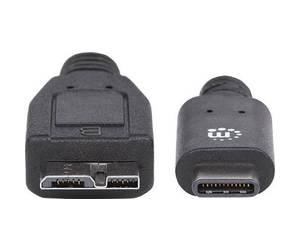 USB-3-1-Typ-C-USB-3-Typ-Micro-B-Stecker