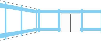 Verlegezonen in Wohnräumen