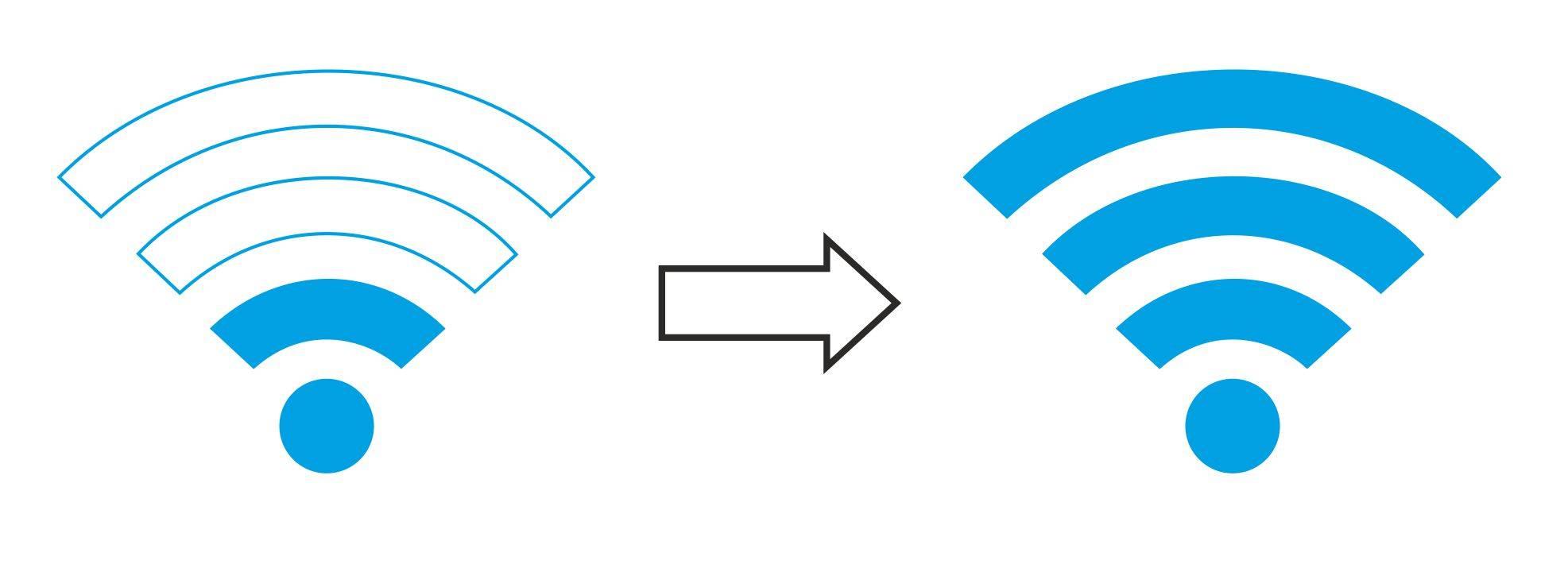 WLAN Signal Verstärkung