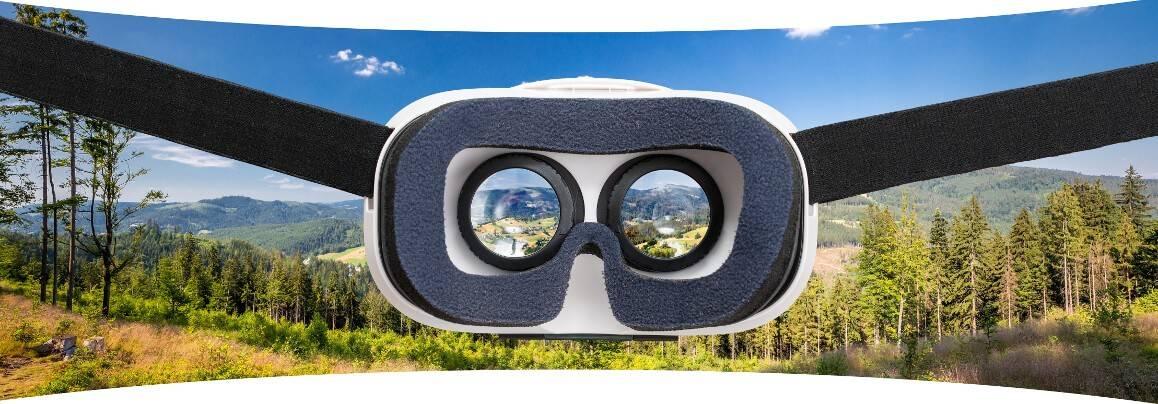 Unbegrenzter Blickwinkel durch Virtual Reality