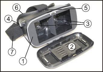 VR Smartphone Brille