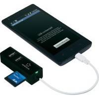 Daten von USB-Sticks am Smartphone oder Tablet auslesen