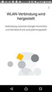 Google Home App Einrichtung