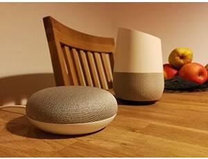 Google Home sprachgesteuerter Lautsprecher
