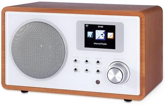 Internet Tischradio Holz