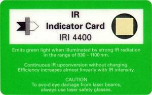 IR Indikatorkarte