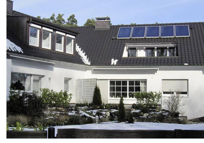 Wie funktioniert eine Solarthermieanlage?