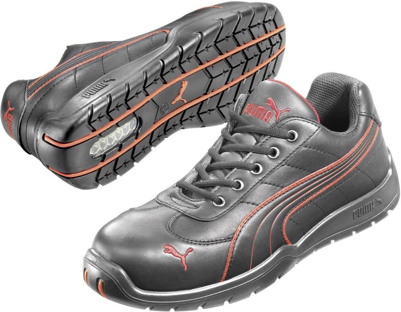 PUMA Safety Fuse Motion Red Wns Low 642870 Sikkerhedssko S1 Strrelse: 40 Sort, Rd 1 pair