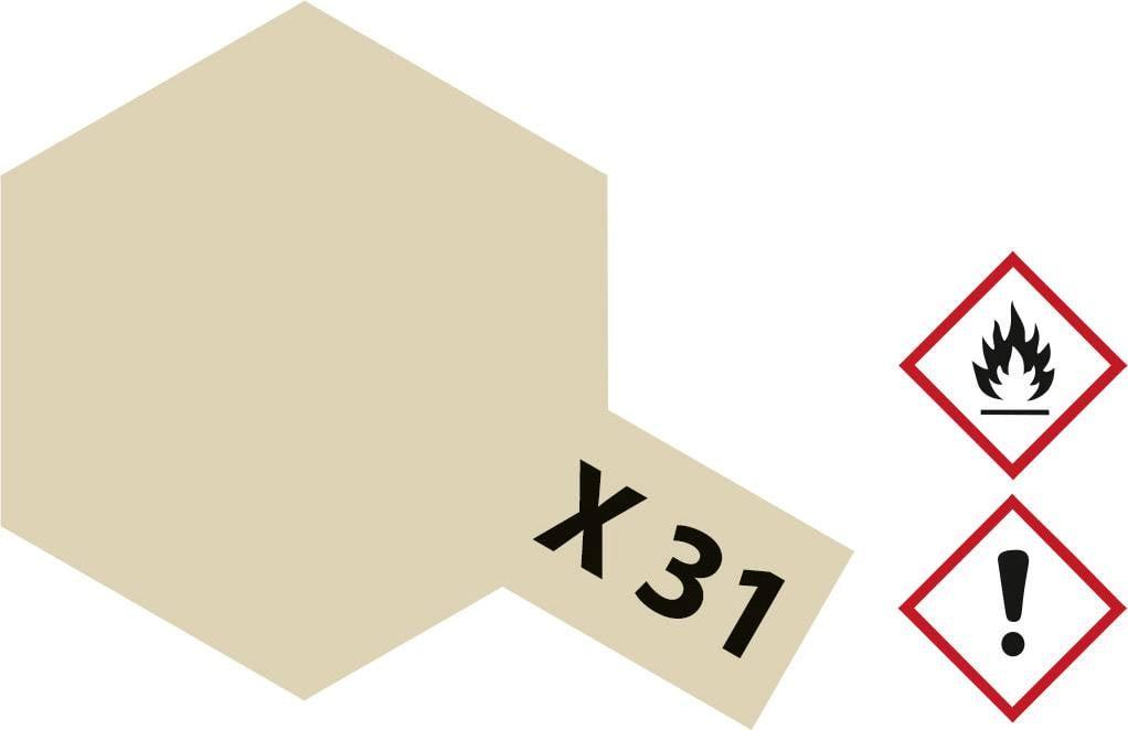 Tamiya 81031 X-31 TITANIUM GOLD