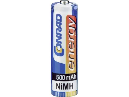 Oplaadbare AAA batterij (potlood) Conrad energy HR03 NiMH 500 mAh 1.2 V 4 stuk(s)