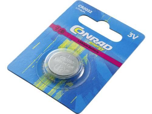 CR2032 Knoopcel Lithium 3 V 200 mAh Conrad energy CR2032 1 stuk(s)