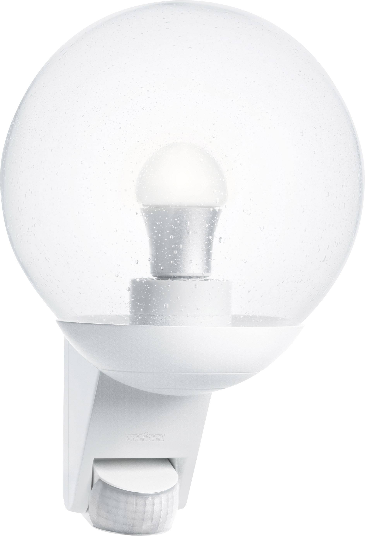 Steinel L585 005917 Outdoor Wall Light Motion Detector Energy Saving Bulb Led Monochrome E 27 60 W White Conrad Com
