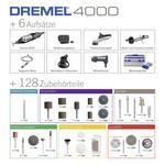 Dremel 4000 Platinum Edition F0134000KE Multifunction tool incl. accessories, incl. case 135-piece 175 W