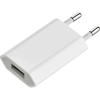 Apple 5W USB Power Adapter Charger Compatible with Apple devices: iPhone, iPod MD813ZM/A Bulk