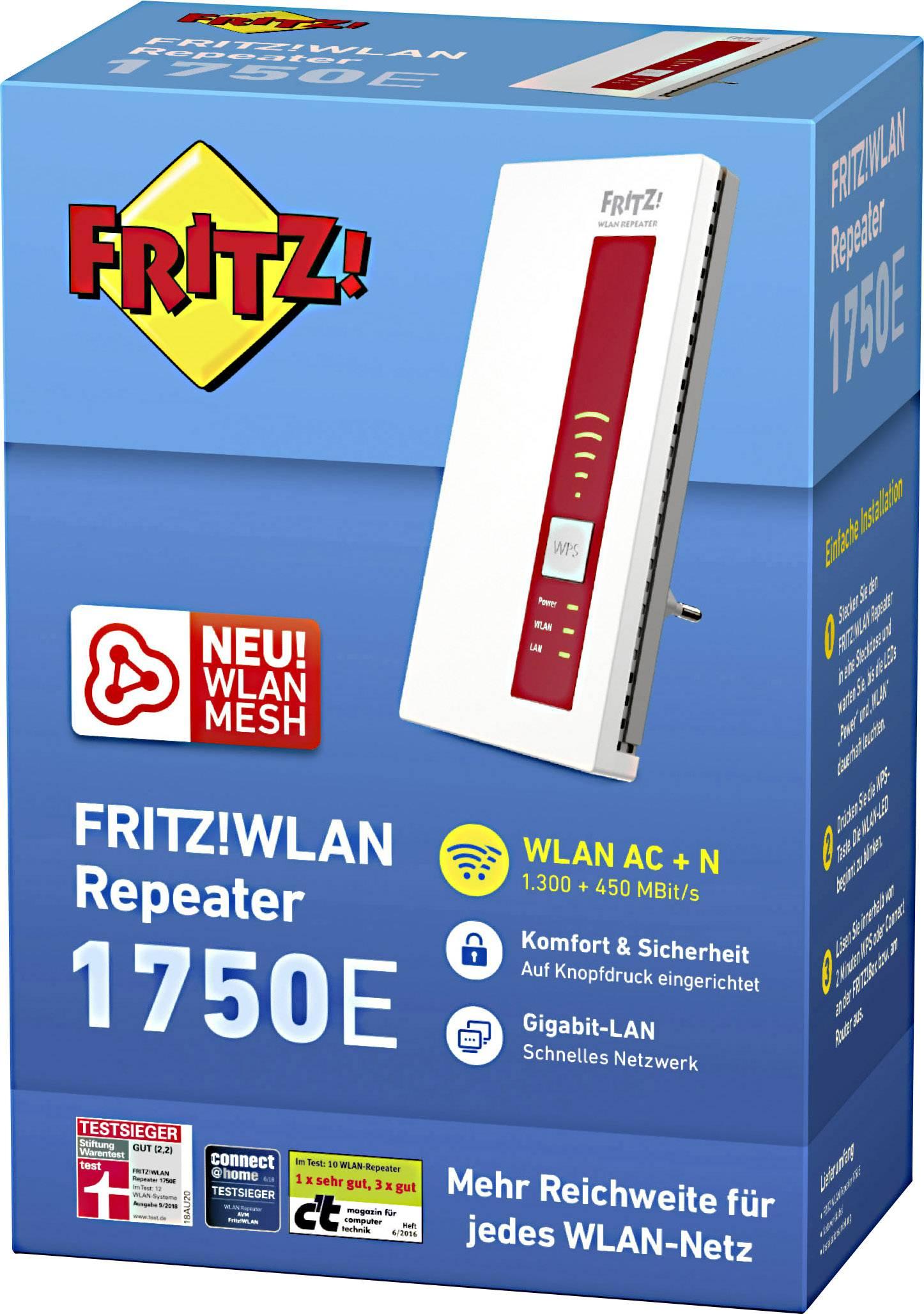 fritzbox wlan verstärker