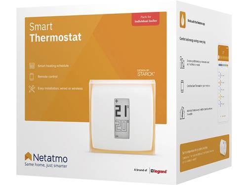 Netatmo NTH01-DE-EC Draadloze kamerthermostaat