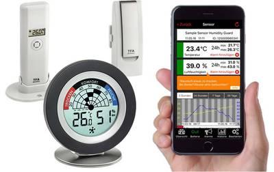 TFA Weatherhub SmartHome System Cossy Radar Mould detector White