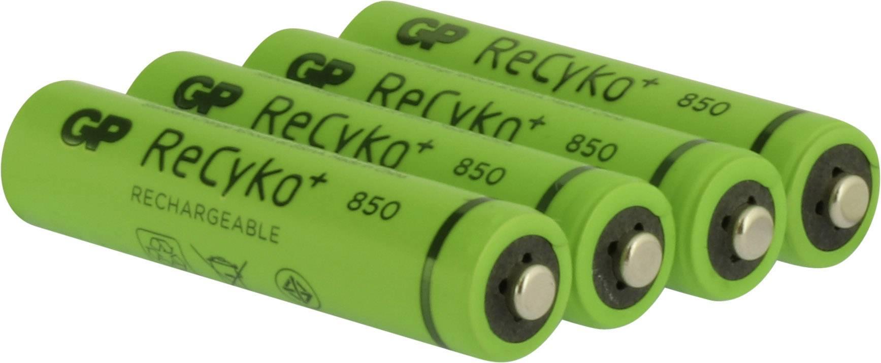 GP Batteries ReCyko+ AAA battery (rechargeable) NiMH 850 ...