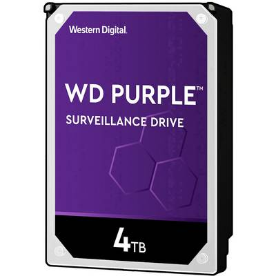Western Digital WD40PURZ 3.5 (8.9 cm) internal hard drive 4 TB Purple™ Bulk SATA III