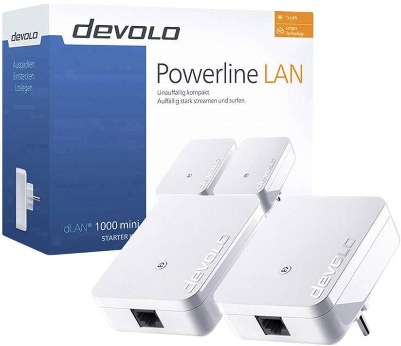 DEVOLO 08147/dLAN 1000/Mini Starter Kit Power Line