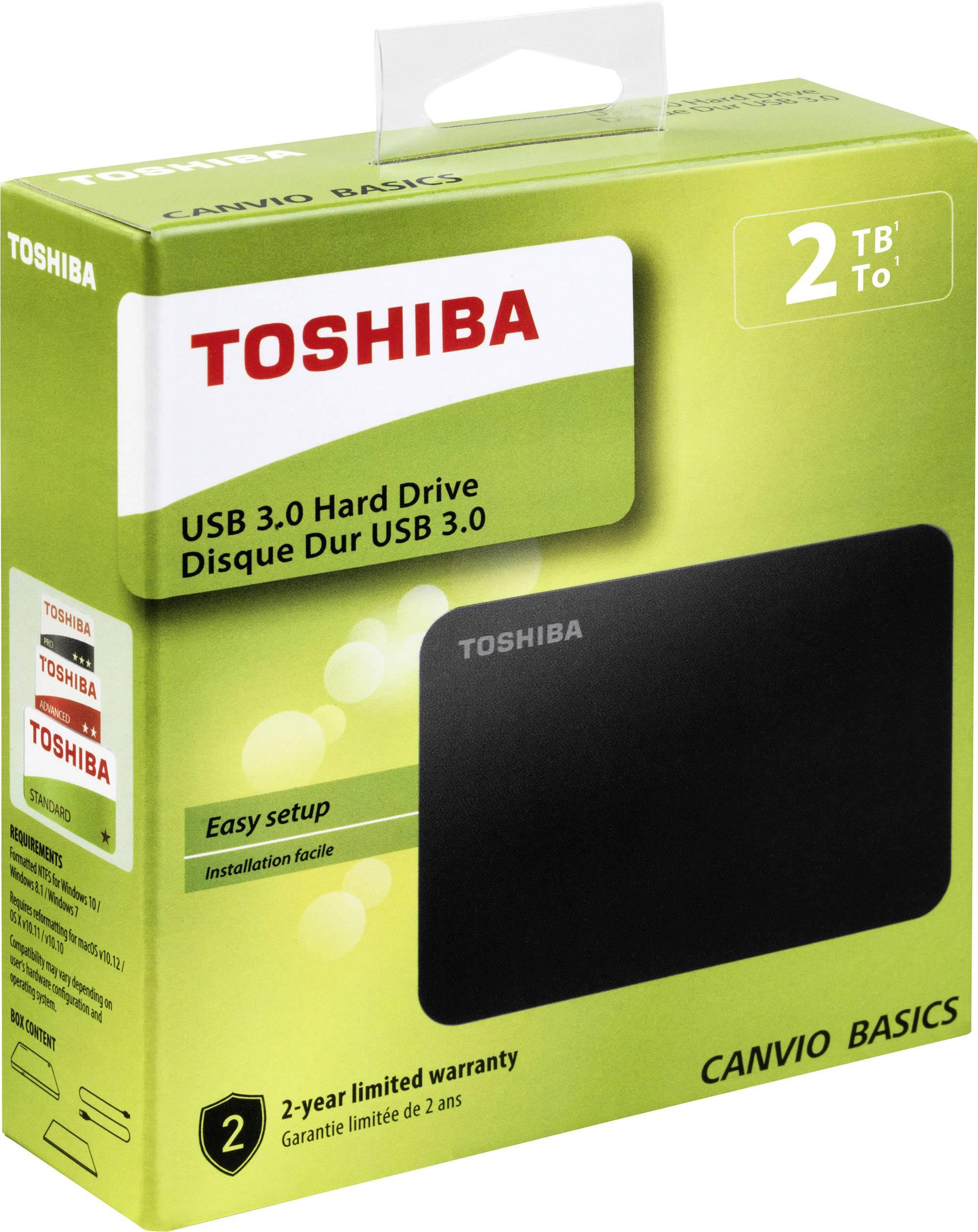 Toshiba Canvio 3.0 basic 1.0 TB