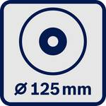 Angle grinder B.S. GWS 18-125 SL