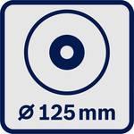 Angle grinder B.S. GWS 18-125 PL INOX