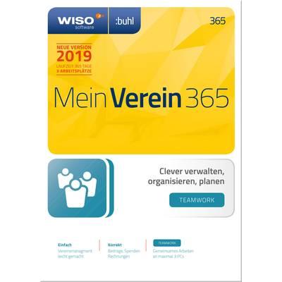 WISO Mein Verein Teamwork 365 2019 Full version, 3 licenses Windows Control