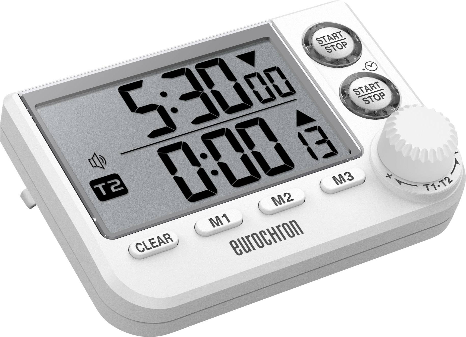 Eurochron EDT 8002 Timer Weiß digital