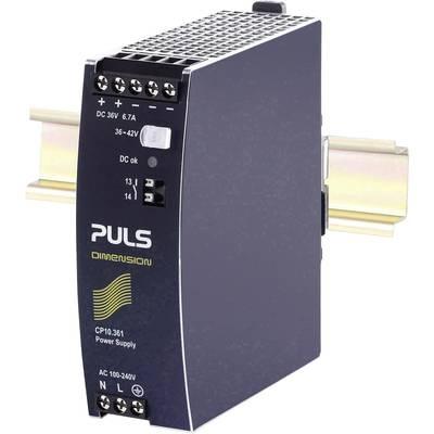 PULS DIMENSION Rail mounted PSU (DIN) 6.7 A 240 W