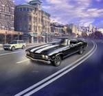 1:25 Model kit 1968 Chevy Chevelle