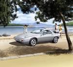 1:16 Porsche 928 kit