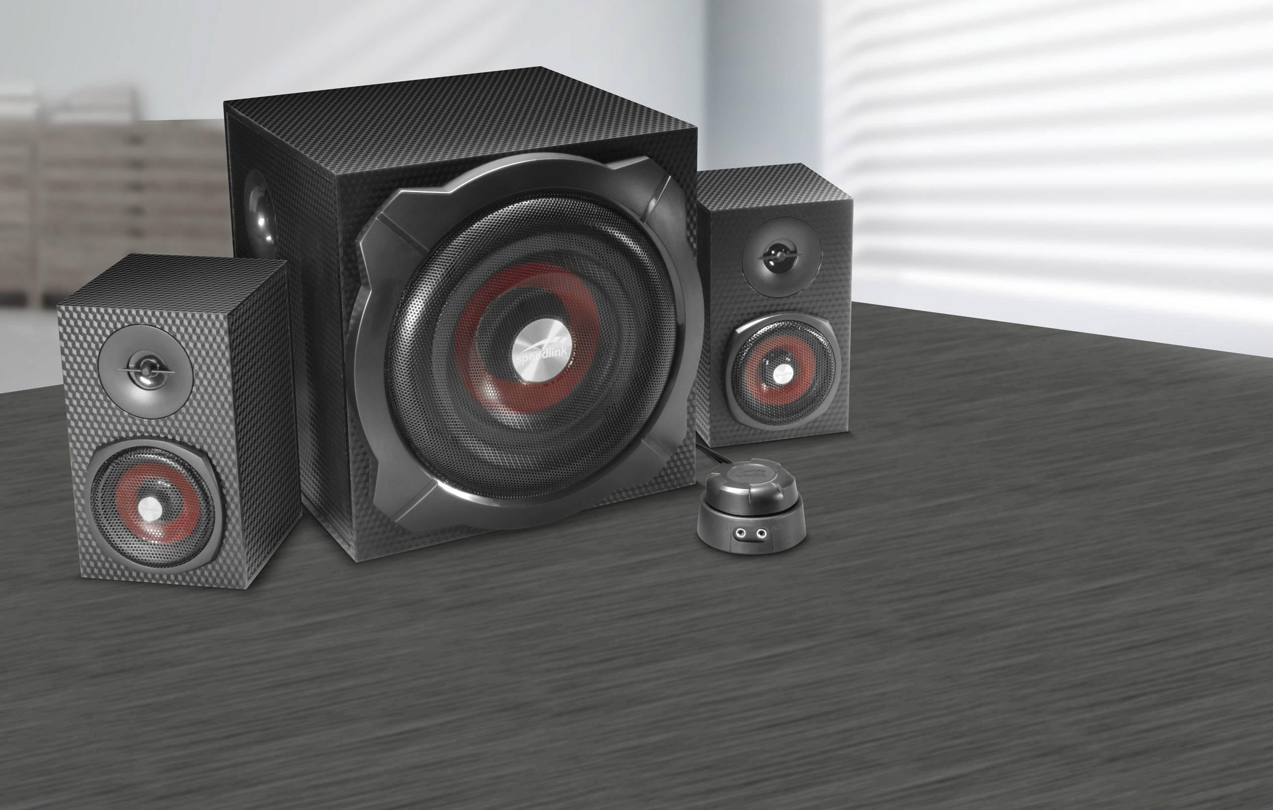 Black Gravity Carbon 2.1 Subwoofer System