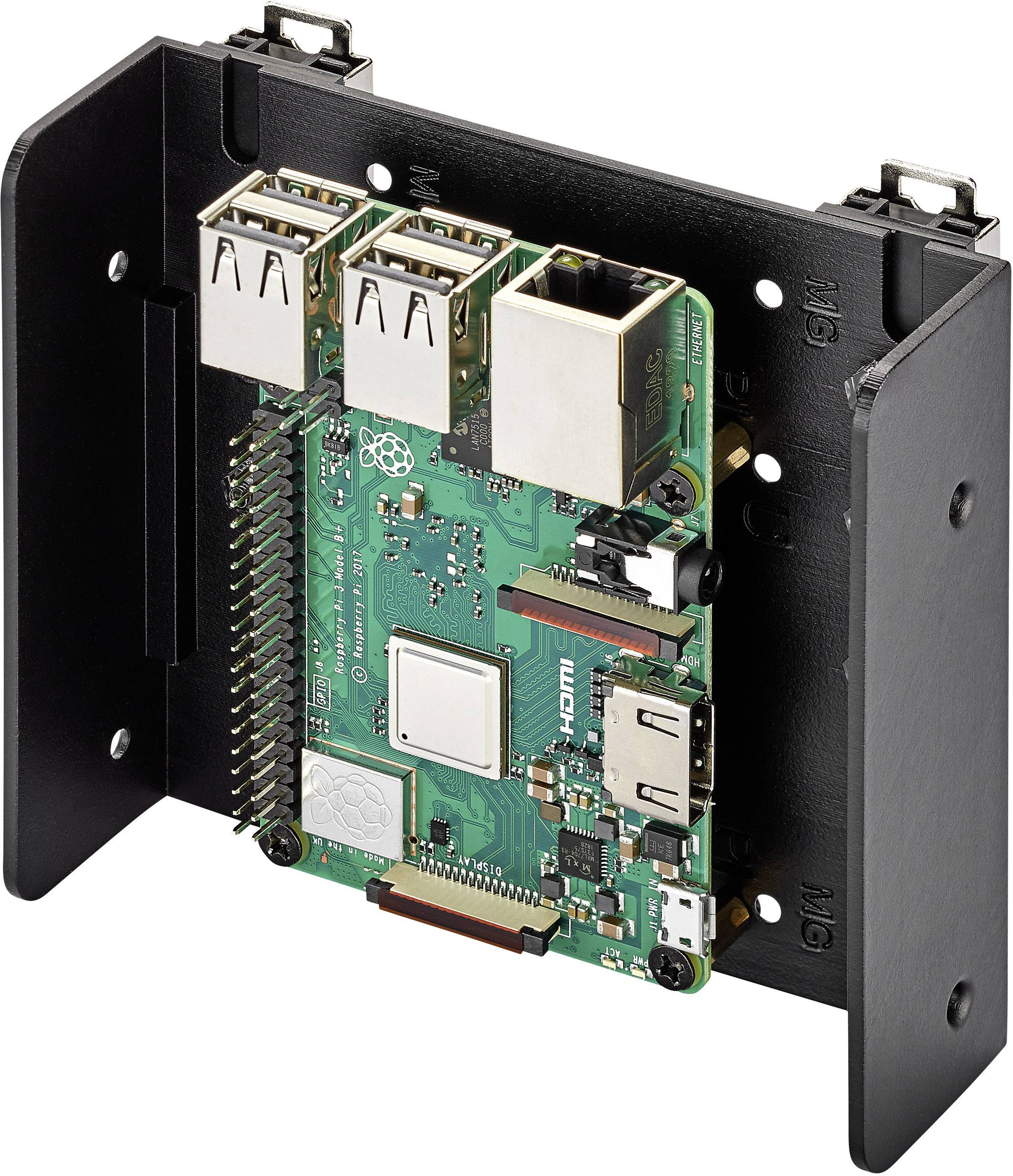 Renkforce DIN-rail bracket Compatible with: Raspberry Pi