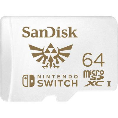 Image of SanDisk Extreme Nintendo Switch™ microSDXC card 64 GB UHS-I, UHS-Class 3 Compatible with Nintendo Switch™