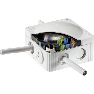Wiska 10066636 Junction box (L x W x H) 140 x 140 x 82 mm Light grey (RAL 7035) IP68