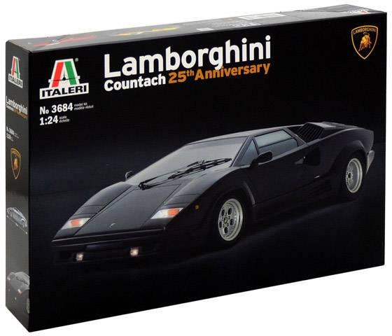 Italeri 510003684 Lamborghini Countach 25th Anniversary Car Model