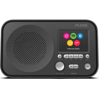 Pure Elan IR5 Internet Portable radio AUX, Bluetooth, Wi-Fi Spotify Black