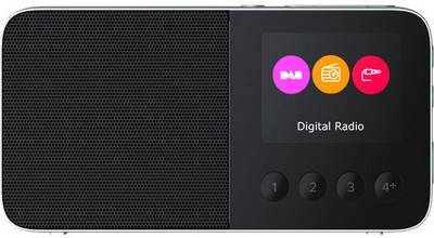Image of Pure Move T4 DAB+ Pocket radio Bluetooth, FM rechargeable Black