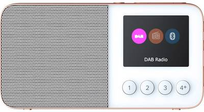 Image of Pure Move T4 DAB+ Pocket radio Bluetooth, FM rechargeable White