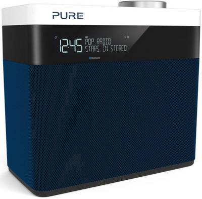 Image of Pure POP Maxi S DAB+ Table top radio AUX, Bluetooth, FM rechargeable Navy
