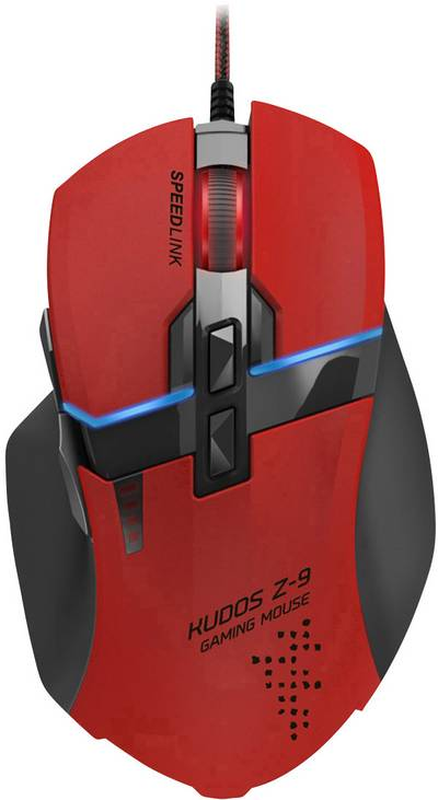 Compare prices for Speedlink Kudos Z-9 8200dpi Laser Gaming Mouse Usb Red/Black - SL-6391-rd-01