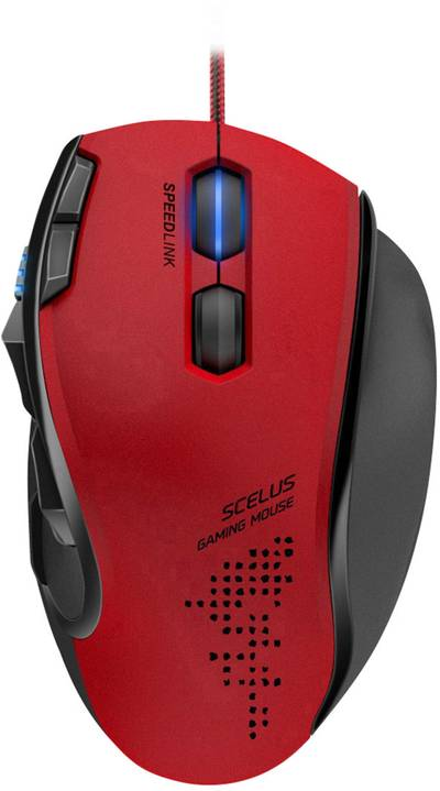 Compare prices for Speedlink WiRed Usb Scelus 3200dpi Optical Gaming Mouse 1.8m Black/Red - SL-680004-BKrd