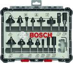 Bosch Mixed milling cutter set, 15-piece, 6 mm shaft