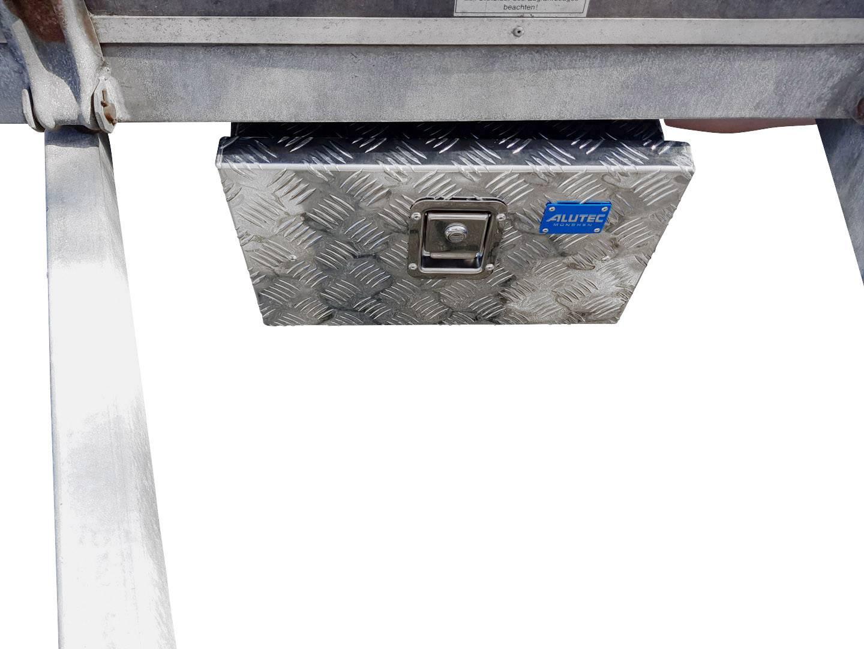 Checker plate box Alutec TRUCK 23 41023 Aluminium (L x W x H