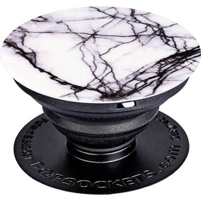 POPSOCKETS 96499-White Marble Mobile phone stand White/black