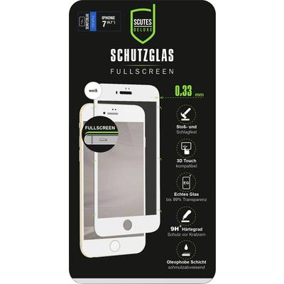 Scutes Deluxe 3D Schutzglas, IP7/8 weiß Glass screen protector N/A 1 pc(s)