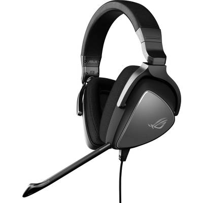 Image of Asus ROG Delta Cora Gaming headset 3.5 mm jack Corded Over-the-ear Black